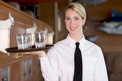 Waiter Uniform Bow Ties, Catering Service Neckties