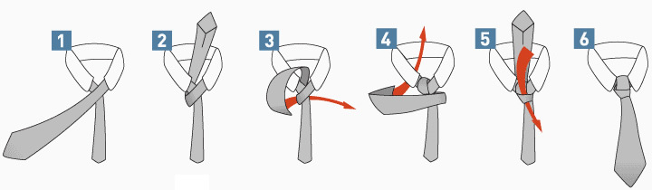 How To Tie A Half Windsor Knot Half Windsor Knot