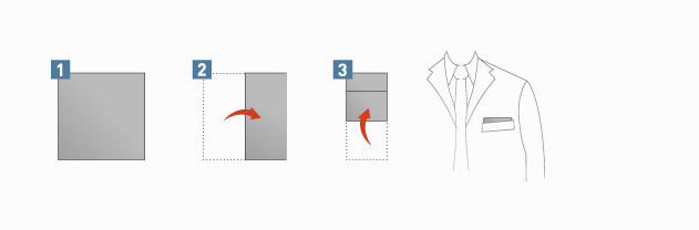 Pocket Square Fold